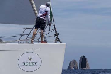 Verso la Rolex Capri Sailing Week