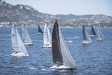ROLEX FARR 40 WORLDS: PLENTY ALLUNGA IN COSTA SMERALDA