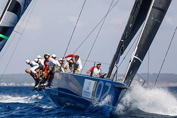 Puerto Portals 52 Super Series SW Azzurra terza in gara 1