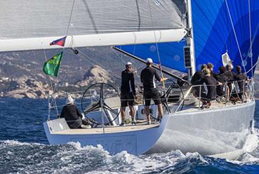 Maxi Yacht Rolex Cup Day 2. Flotta divisa a metà dal vento