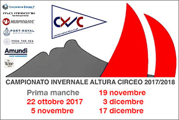 CAMPIONATO INVERNALE ALTURA DEL CIRCEO 2017/2018