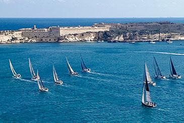 Ha preso il via da Malta la 38ma Rolex Middle Sea Race