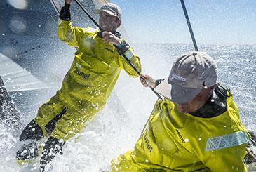 Volvo Ocean Race, con Alberto Bolzan anche un po' d'Italia