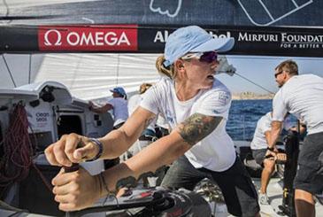 Volvo Ocean Race, con Francesca Clapcich anche un po' d'Italia