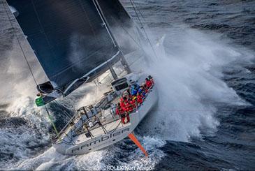 Rambler 88 primo al traguardo della Rolex Middle Sea Race: