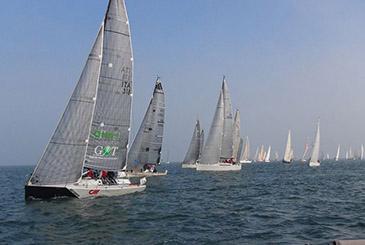 Marina di Ravenna. Prima giornata del 36° Campionato invernale