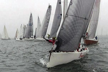 36° Campionato d'inverno al RYC di Marina di Ravenna