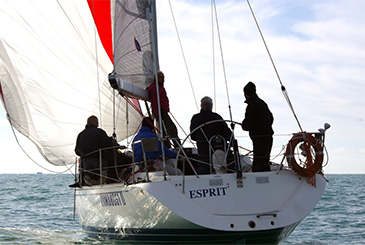 Sole e vento per il 43° Campionato Invernale Anzio-Nettuno