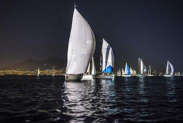 L'imbarco dei Mille alla 64ma Regata dei Tre Golfi