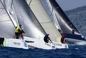 Vento forte al quarto giorno del Mondiale ORC 2019