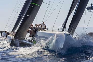 Le classifiche prendono forma alla Maxi Yacht Rolex Cup