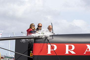 Il team Luna Rossa Prada Pirelli vara il secondo AC75 Luna Rossa