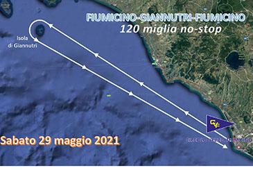 Twins Twice domina sulla rotta Fiumicino-Giannutri